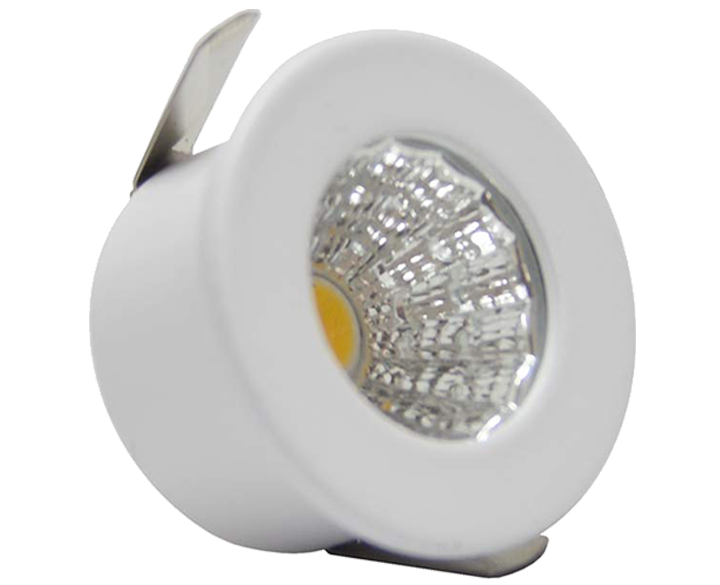 LED Round COB Button 1W