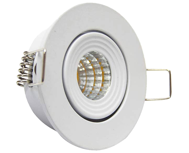 LED Round Twist COB 335 3W