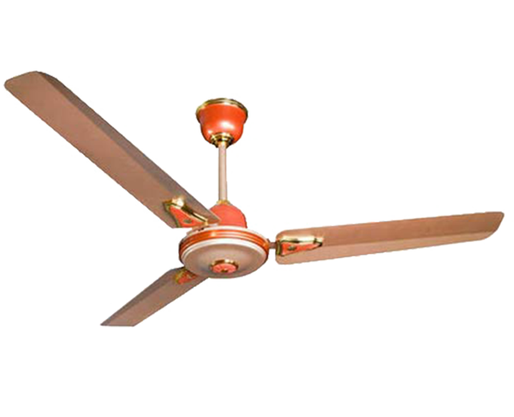 Ceiling Fan Hi Speed Decora Ginger Gold