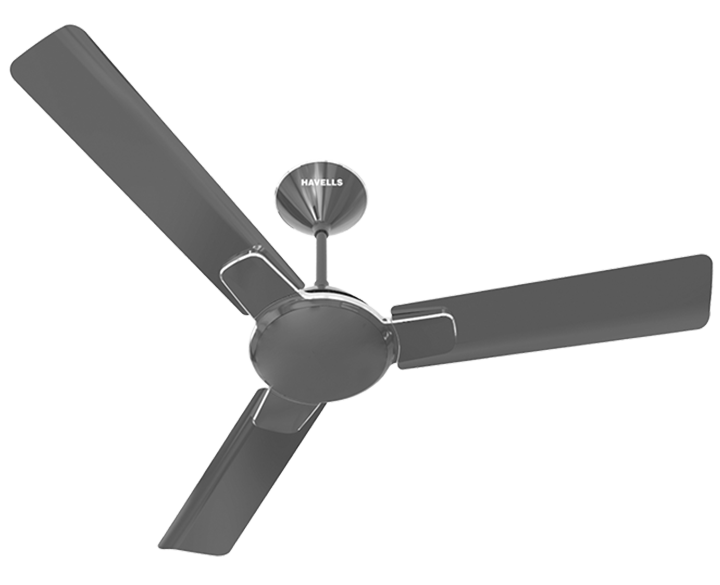 Ceiling Fan Enticer Metallic Black Chrome