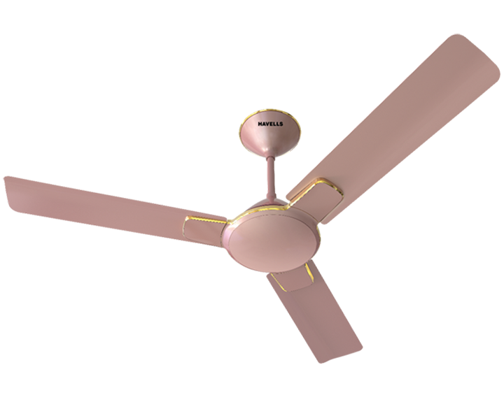 Ceiling Fan Enticer Rose Gold