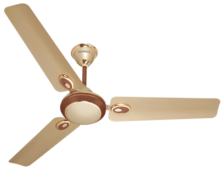 Ceiling fan Fusion Beige Brown