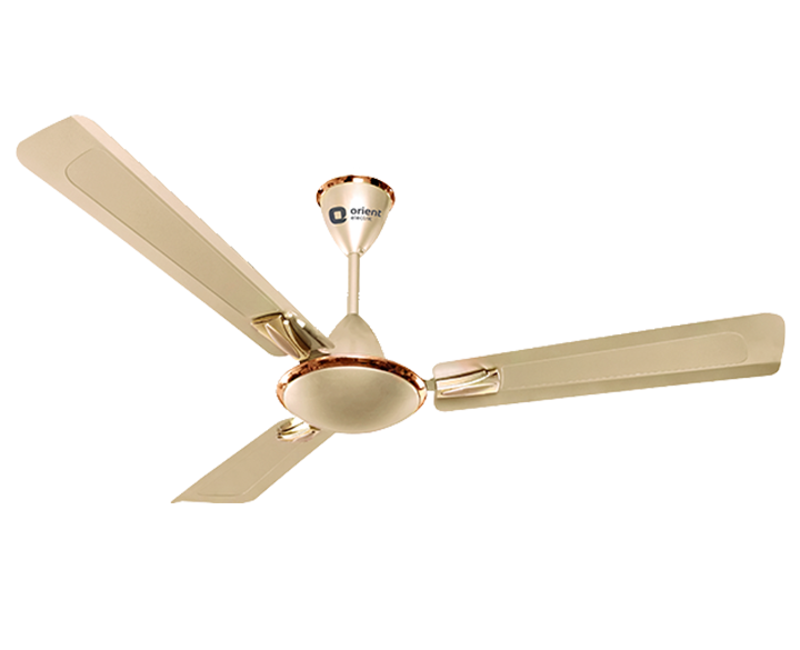 Ceiling Fan Gratia Metallic Ivory Matt Bronze