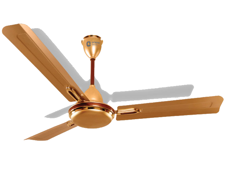 Ceiling Fan Quasar Golden Chocolate