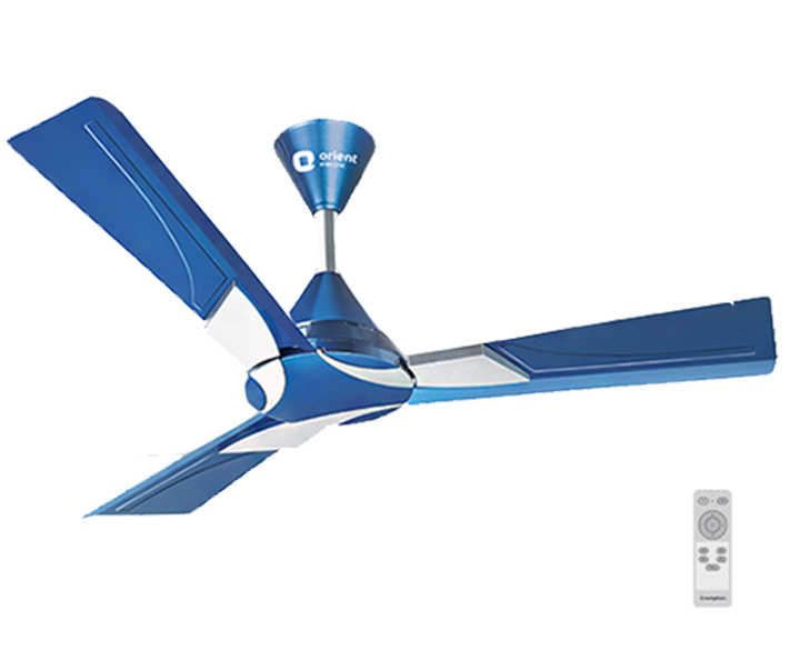 Ceiling Fan Wendy Azure Blue Silver