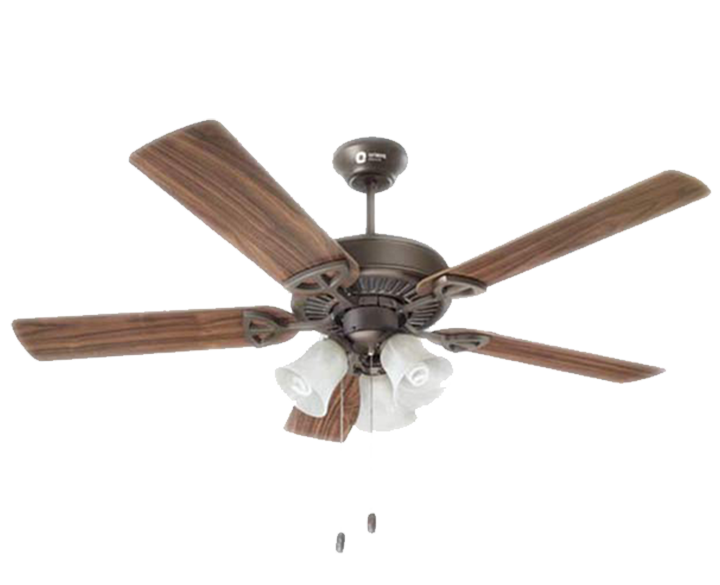 Ceiling Fan Wood Wind UnderLight