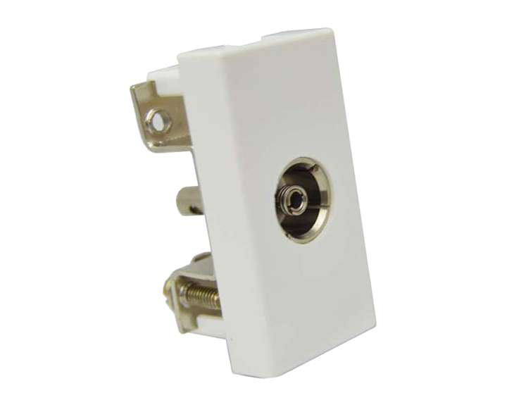 TV Socket Coaxial 1 Module